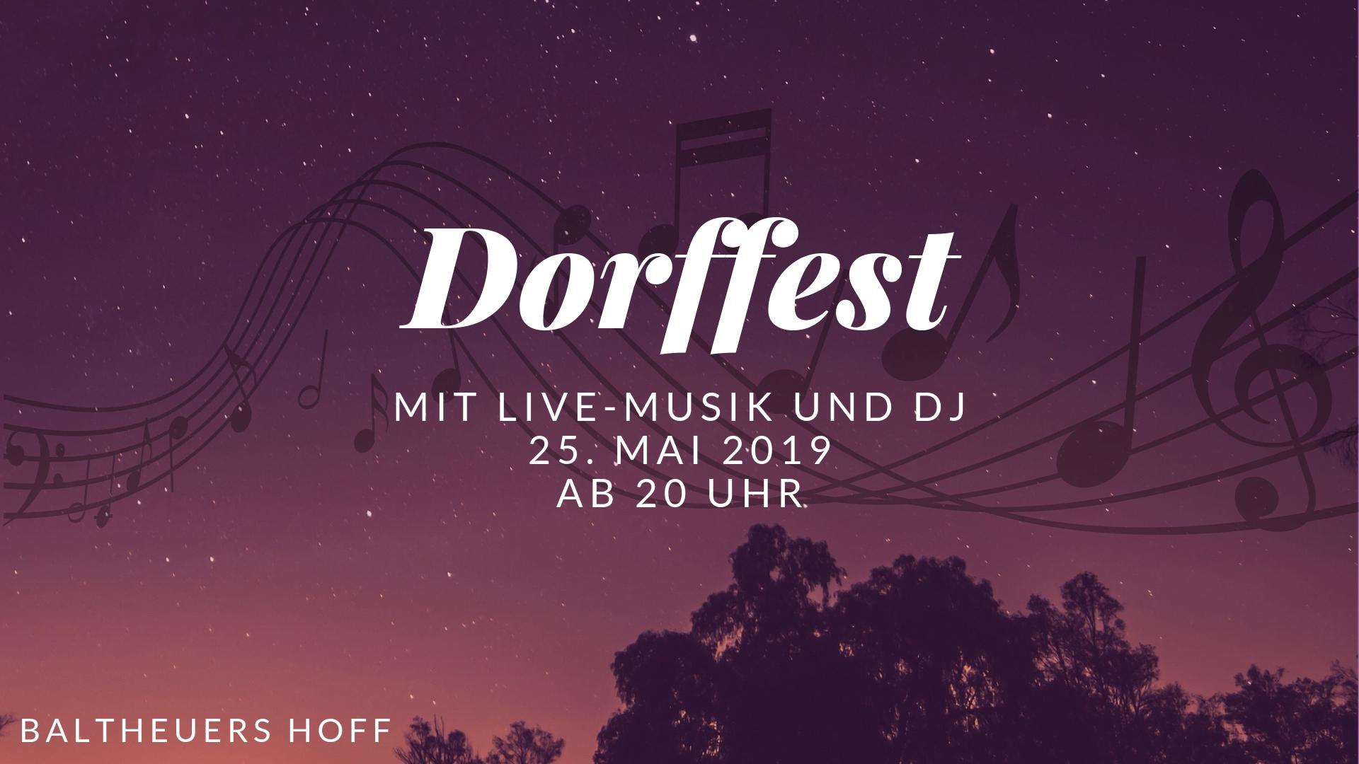 Arpker Dorffest 25. Mai 2019